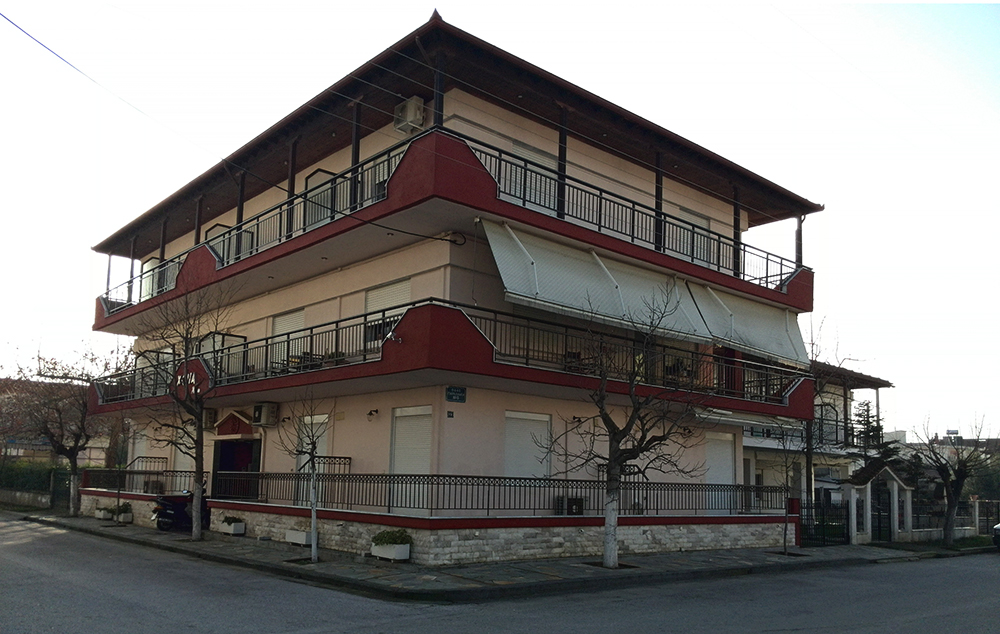 Vila Xenia Place spolja
