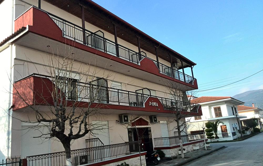 Vila Xenia Place ulaz